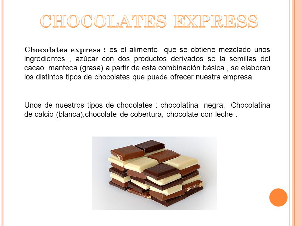CHOCOLATES EXPRESS