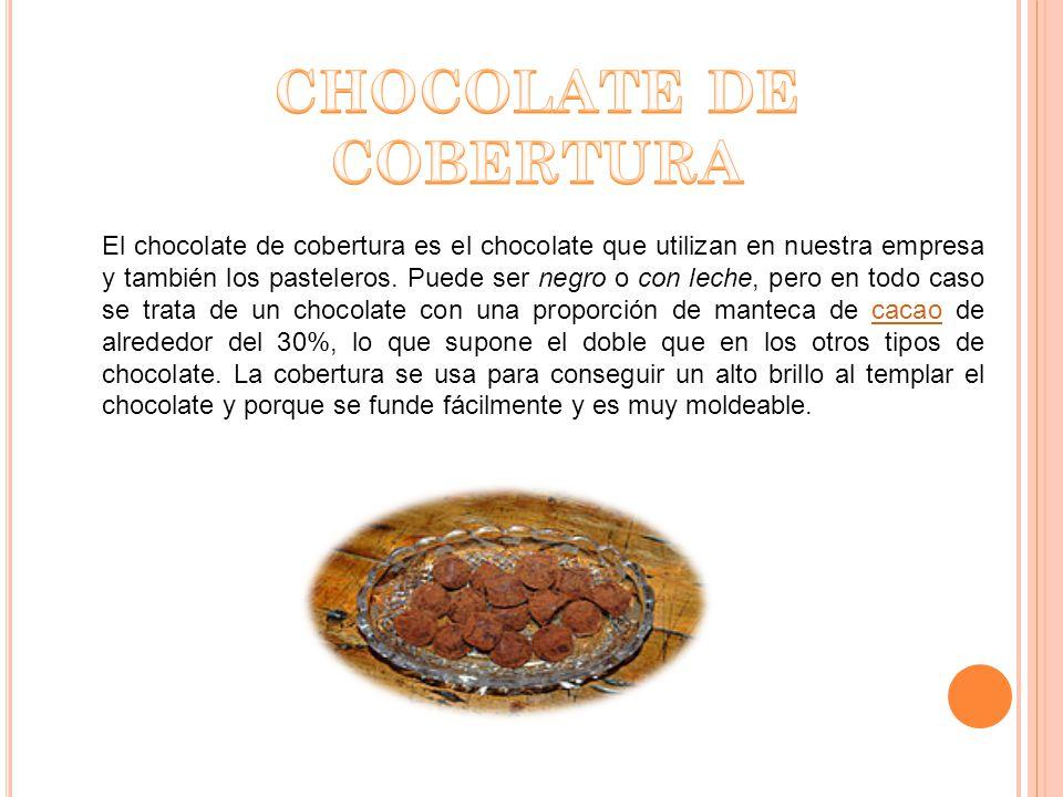 CHOCOLATE DE COBERTURA