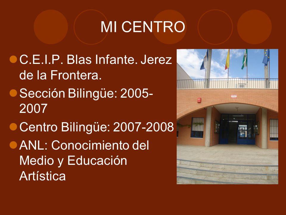 MI CENTRO C.E.I.P. Blas Infante. Jerez de la Frontera.