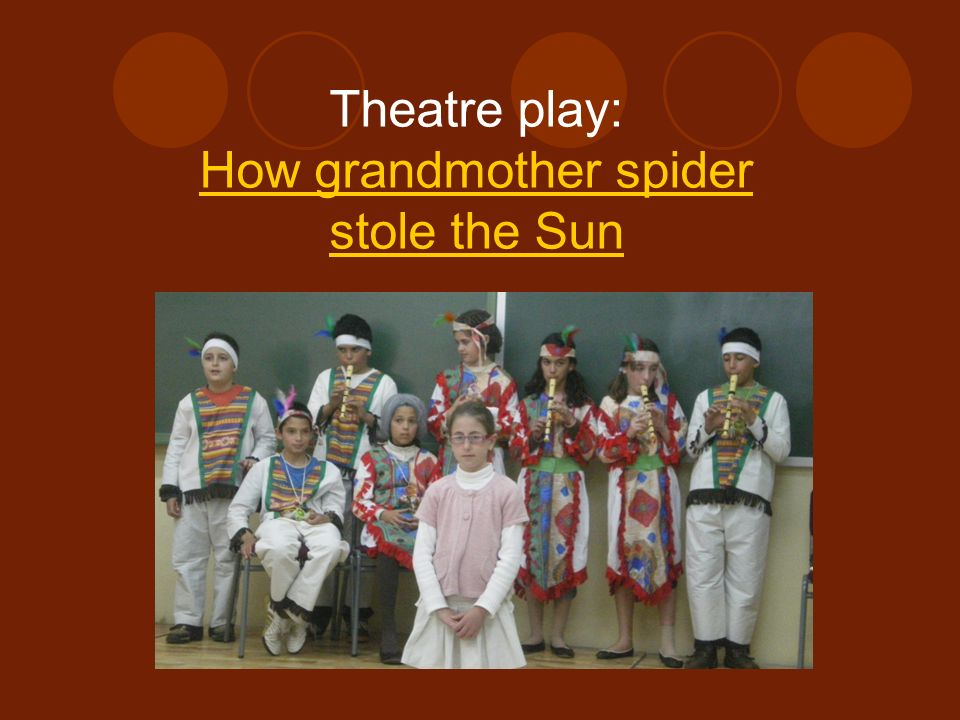 How grandmother spider