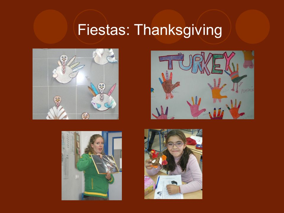 Fiestas: Thanksgiving