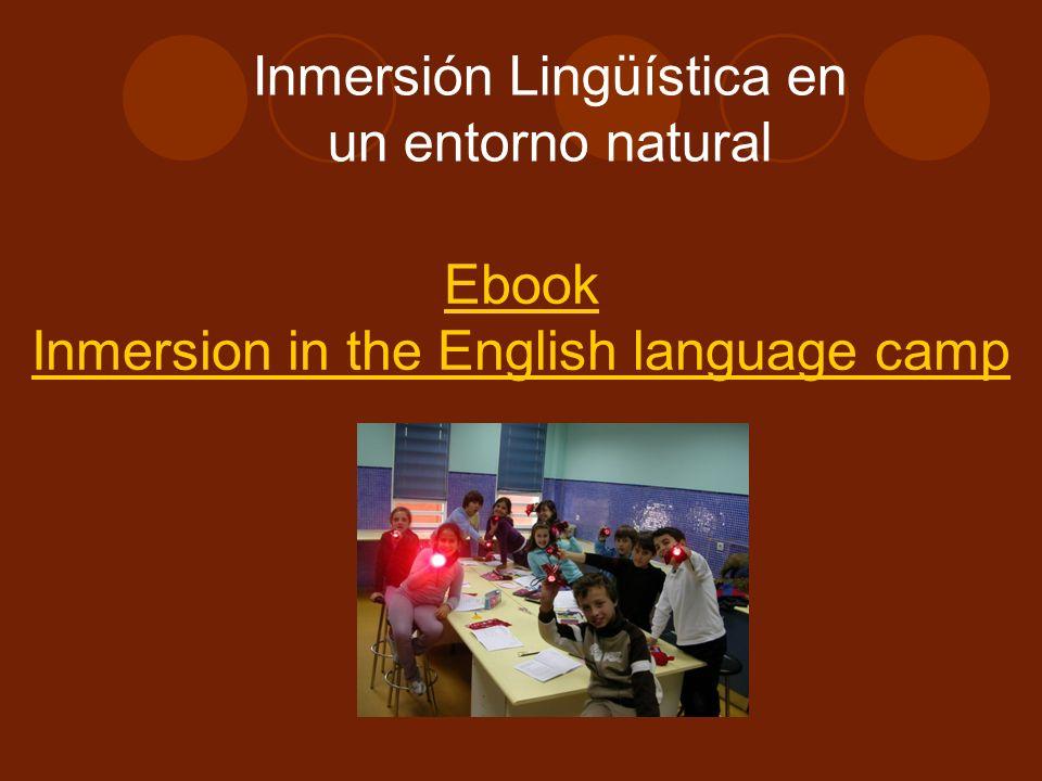 Inmersión Lingüística en un entorno natural