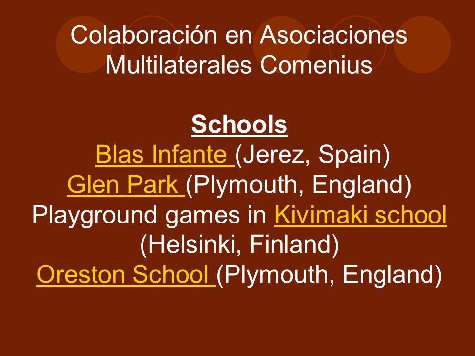 Colaboración en Asociaciones Multilaterales Comenius