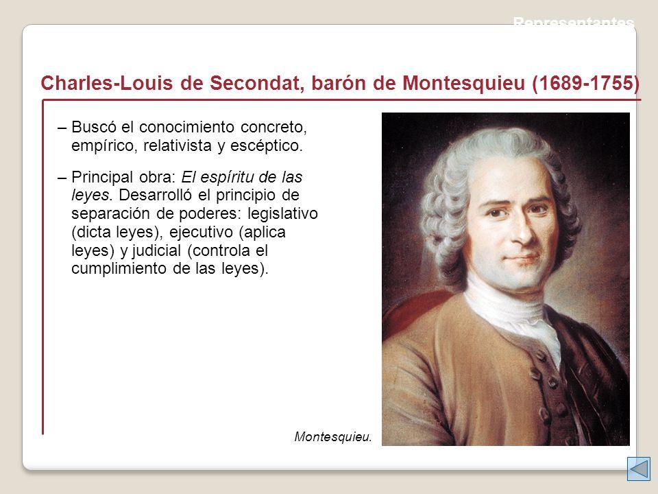 Charles-Louis de Secondat, barón de Montesquieu (1689-1755)