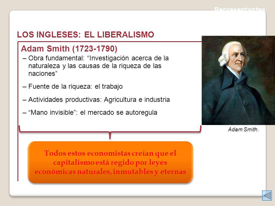 LOS INGLESES: EL LIBERALISMO