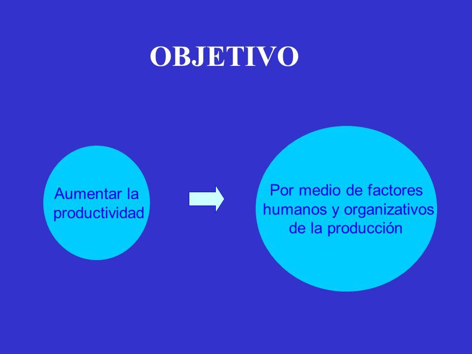 humanos y organizativos