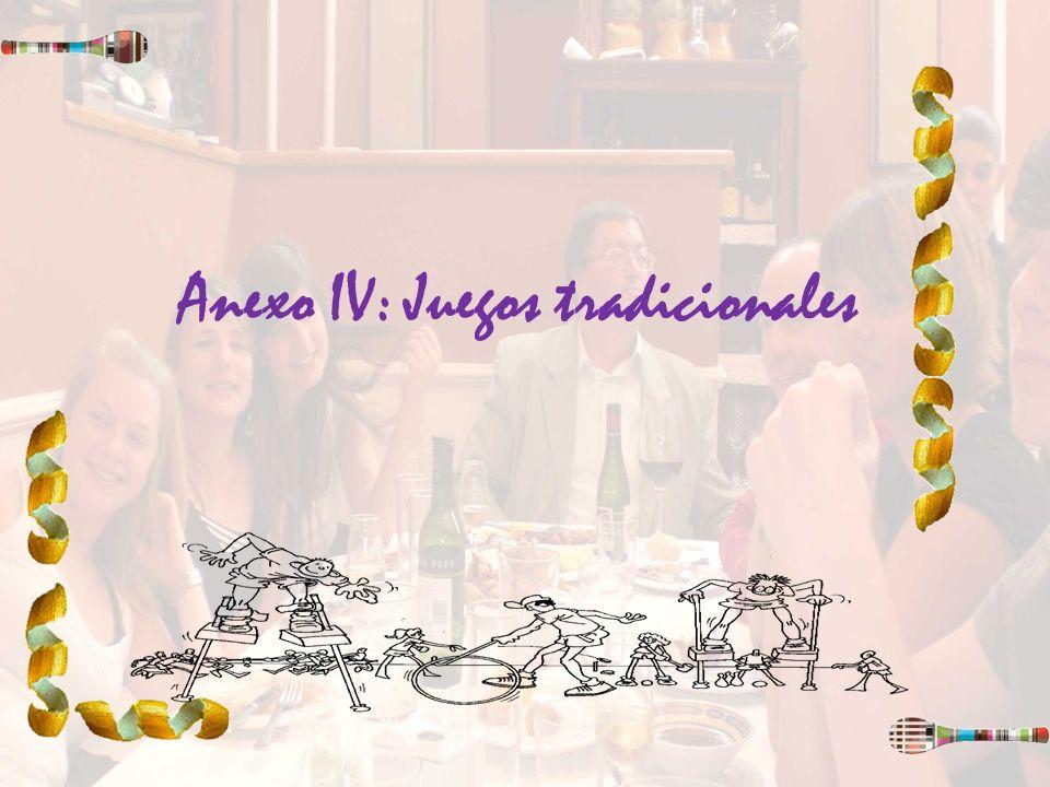 Anexo IV: Juegos tradicionales