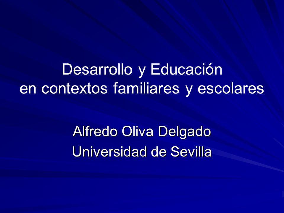 Desarrollo y Educación en contextos familiares y escolares