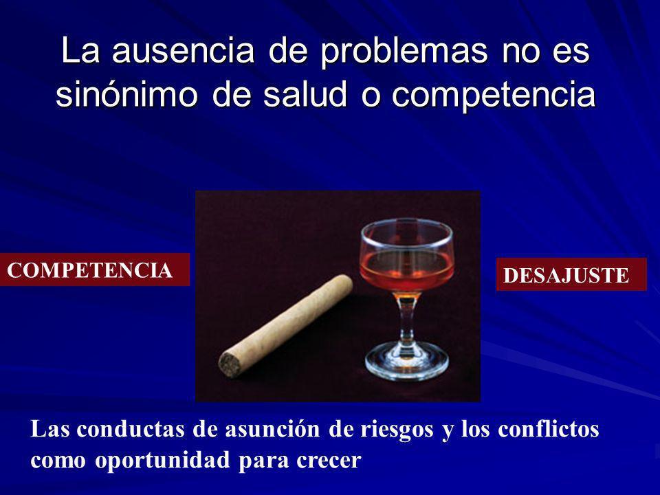 La ausencia de problemas no es sinónimo de salud o competencia