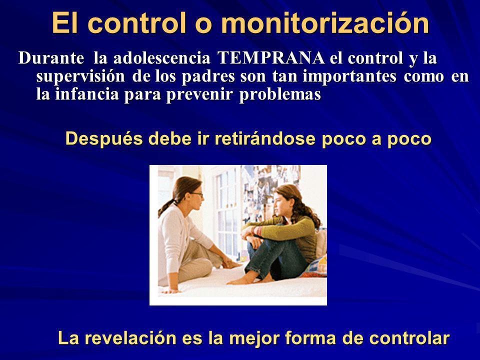 El control o monitorización