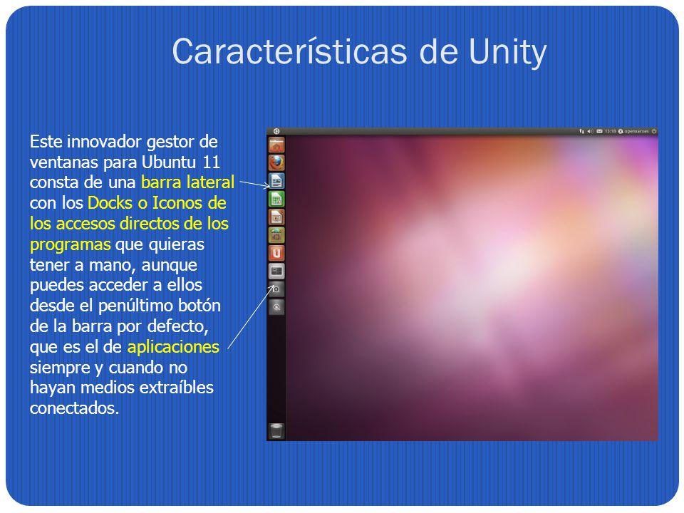 Características de Unity