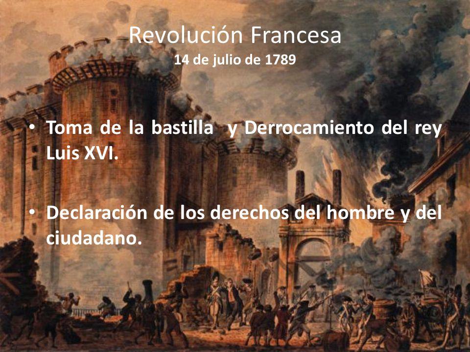 Revolución Francesa 14 de julio de 1789