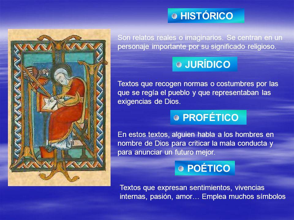 HISTÓRICO JURÍDICO PROFÉTICO POÉTICO
