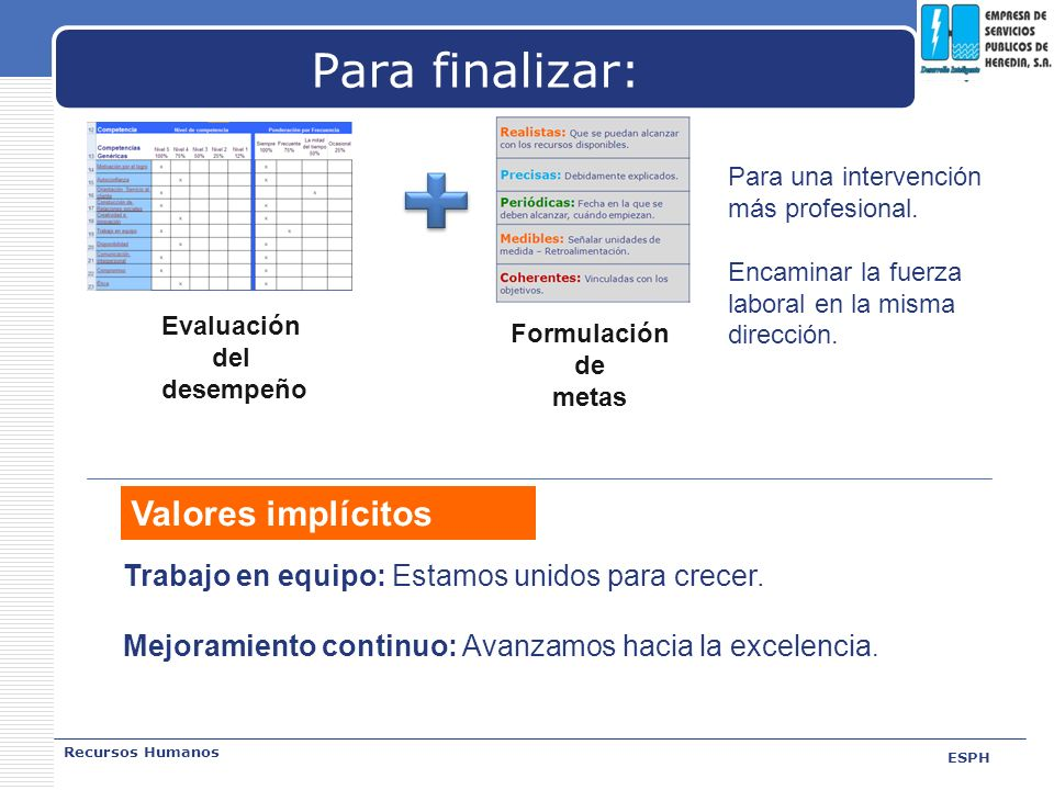 Para finalizar: Valores implícitos