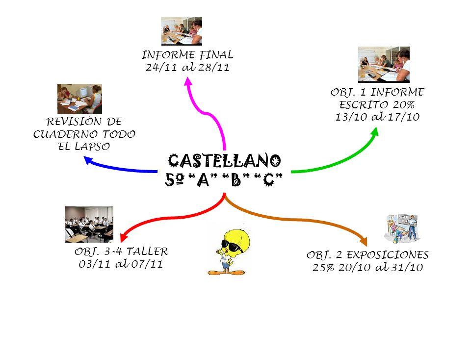 CASTELLANO 5º A B C