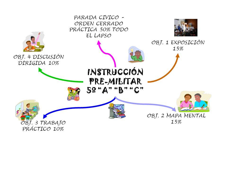 INSTRUCCIÓN PRE-MILITAR 5º A B C