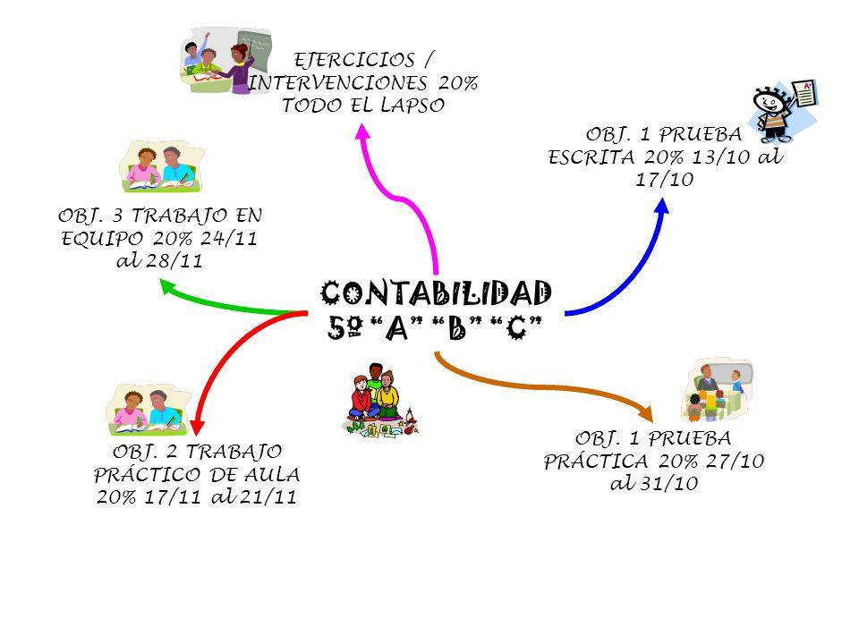 CONTABILIDAD 5º A B C