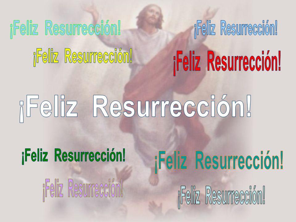 ¡Feliz Resurrección! ¡Feliz Resurrección! ¡Feliz Resurrección! ¡Feliz Resurrección! ¡Feliz Resurrección!