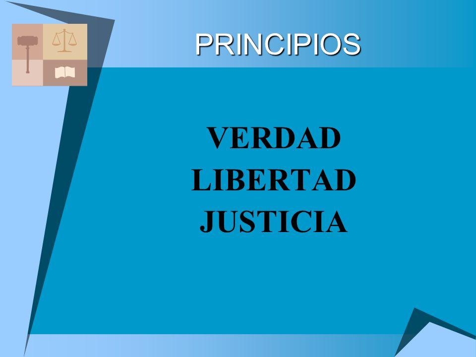 VERDAD LIBERTAD JUSTICIA