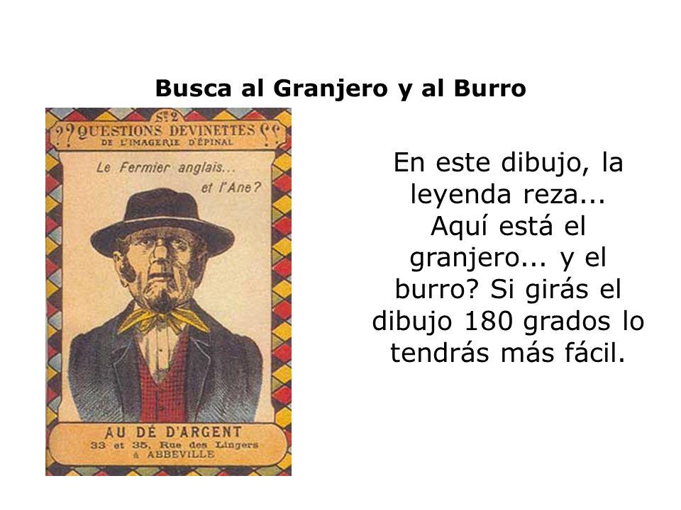 Busca al Granjero y al Burro