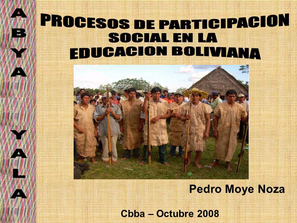 PROCESOS DE PARTICIPACION