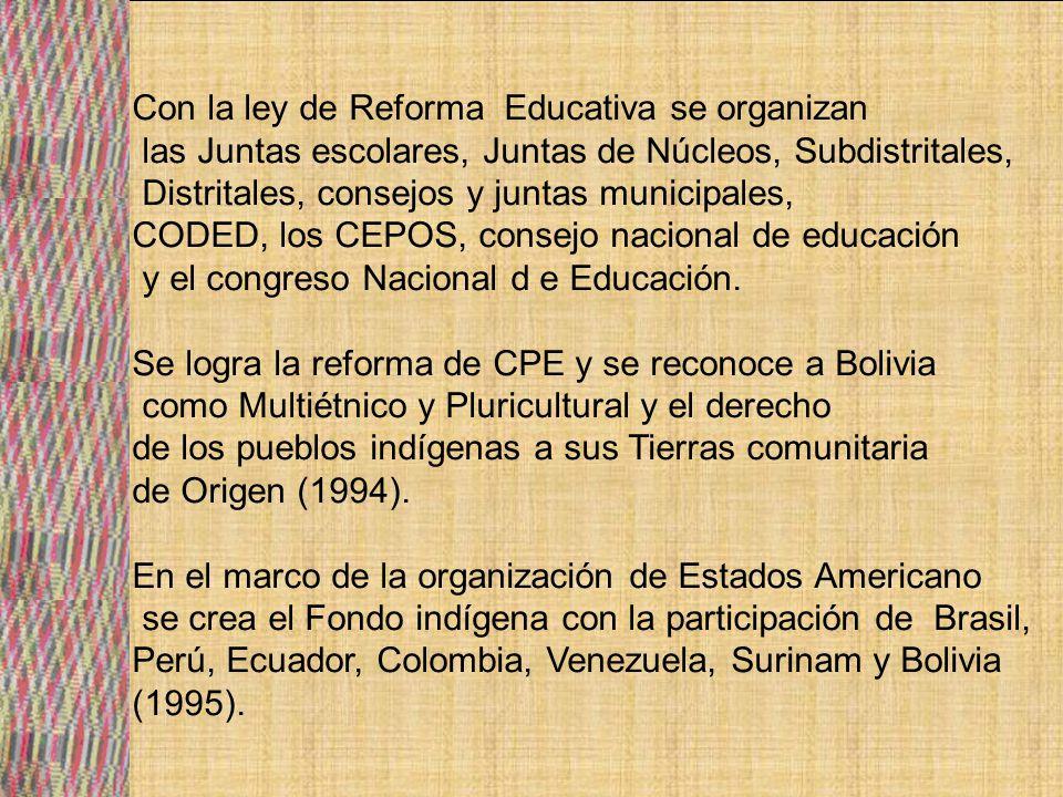 Con la ley de Reforma Educativa se organizan