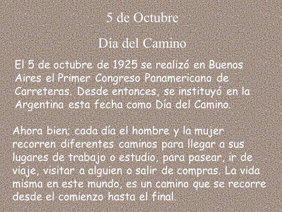 5 de Octubre Día del Camino