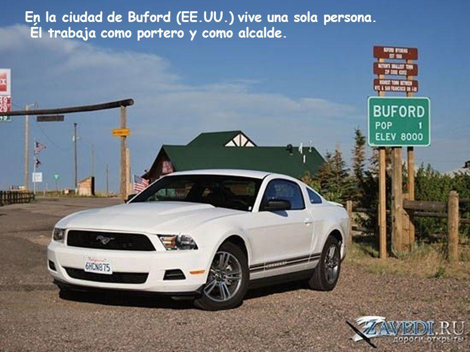 En la ciudad de Buford (EE.UU.) vive una sola persona.