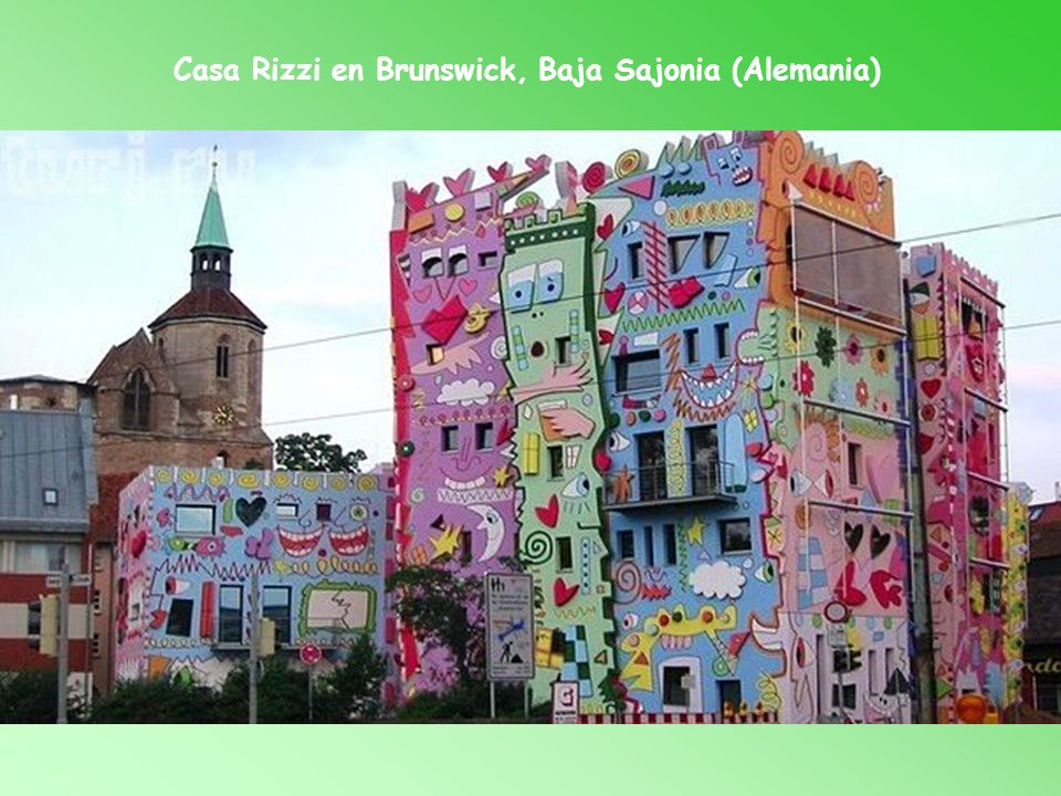 Casa Rizzi en Brunswick, Baja Sajonia (Alemania)
