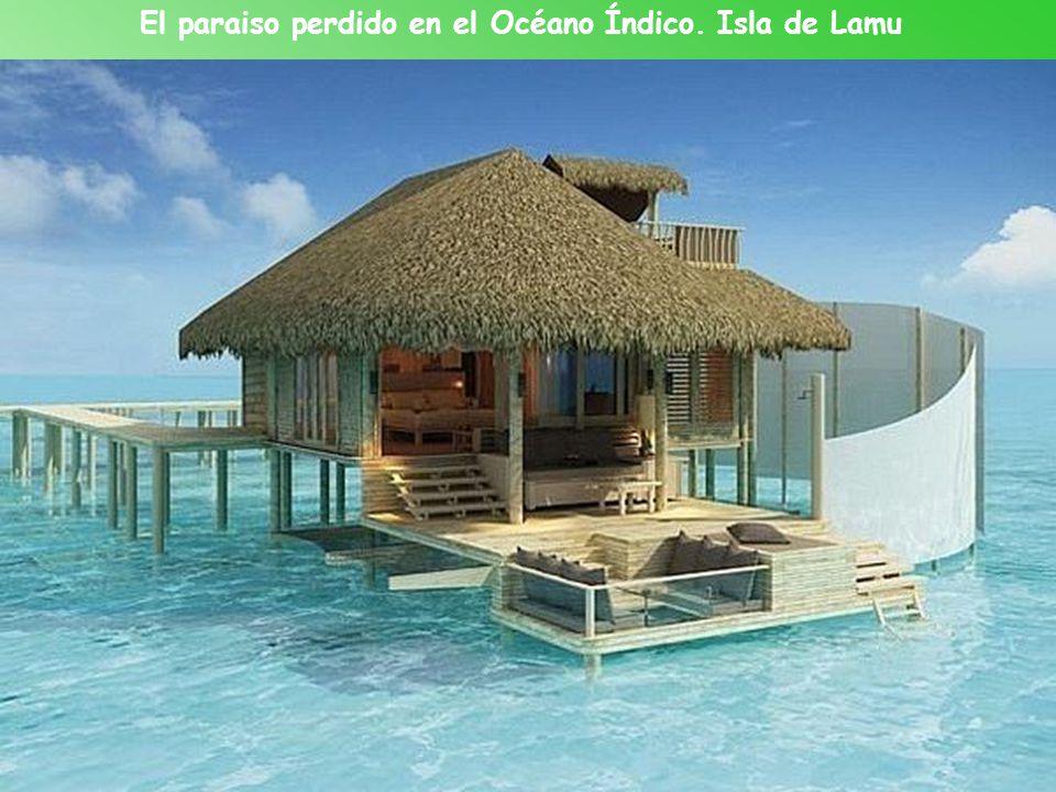 El paraiso perdido en el Océano Índico. Isla de Lamu