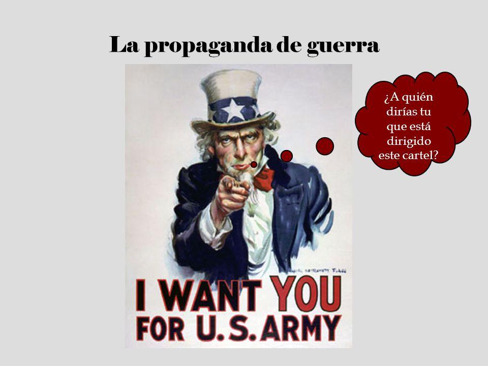 La propaganda de guerra