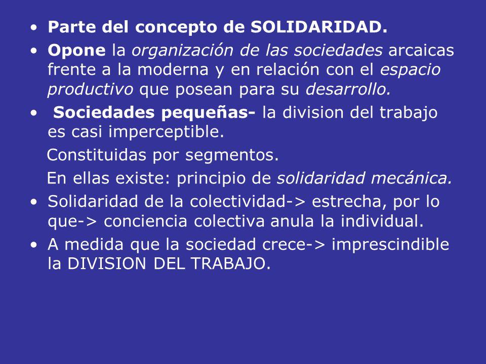 Parte del concepto de SOLIDARIDAD.