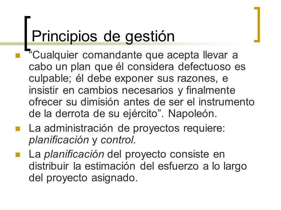Principios de gestión