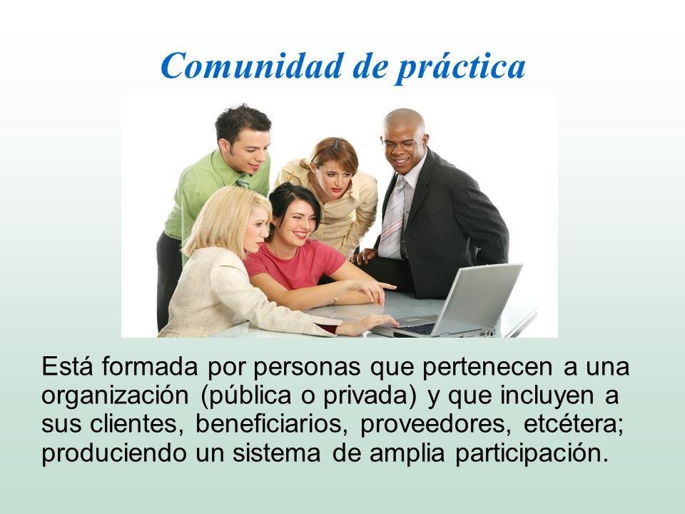 Comunidad de práctica