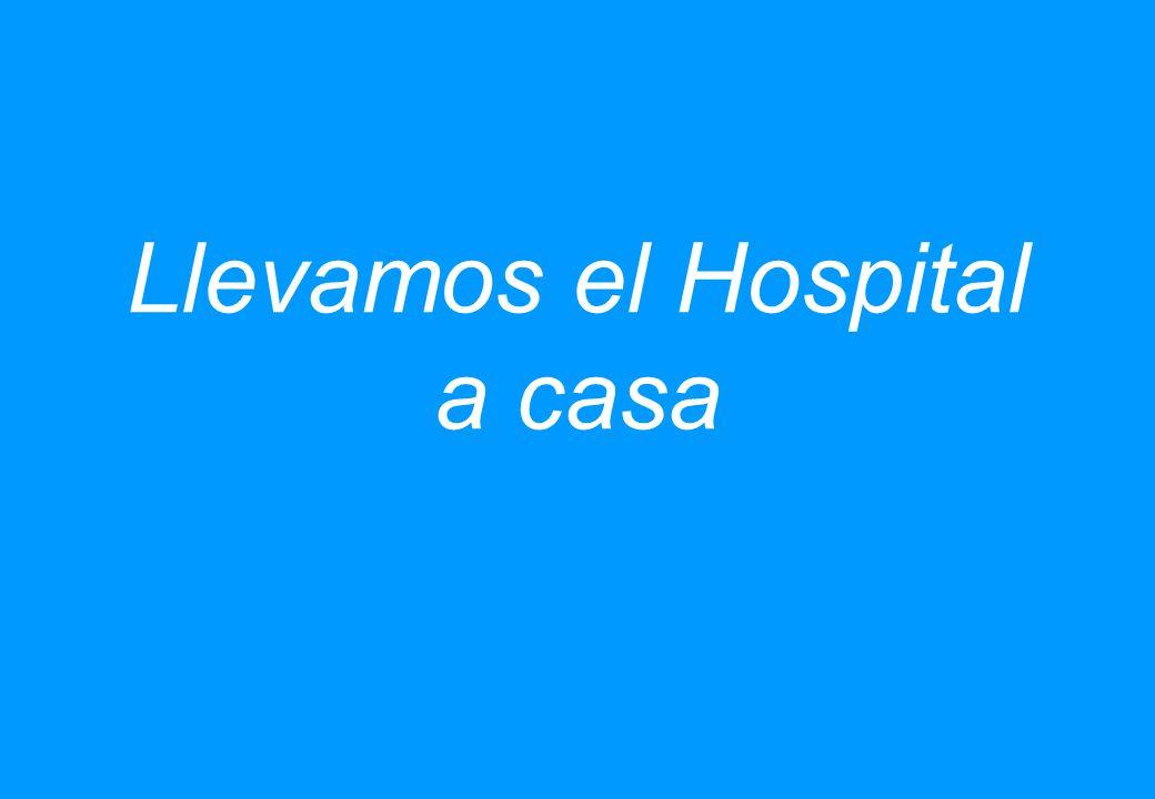 Llevamos el Hospital a casa