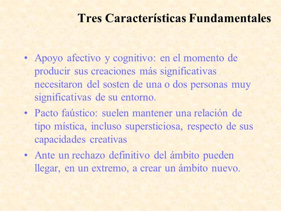 Tres Características Fundamentales