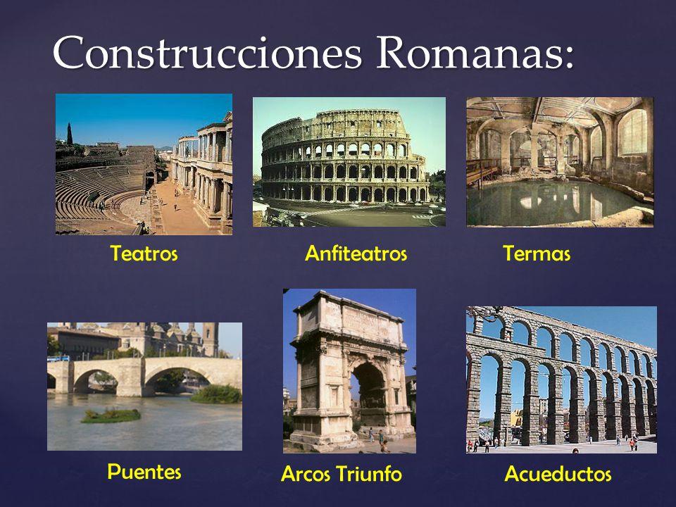 Construcciones Romanas: