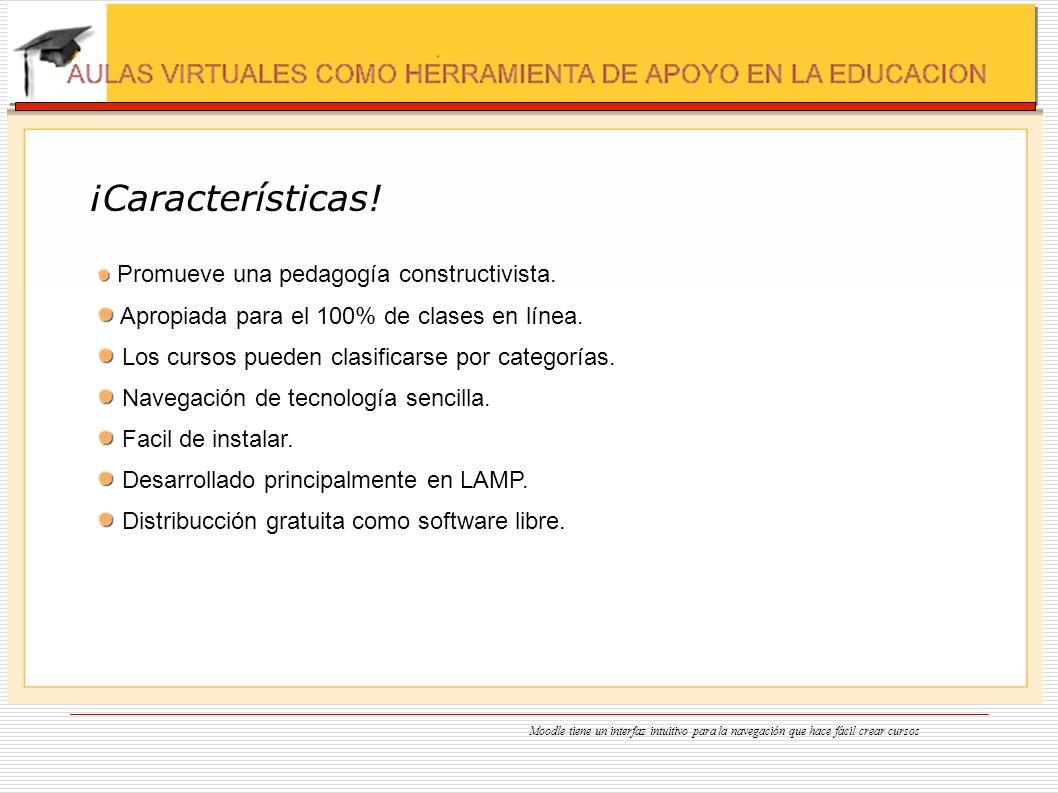 ¡Características! Apropiada para el 100% de clases en línea.