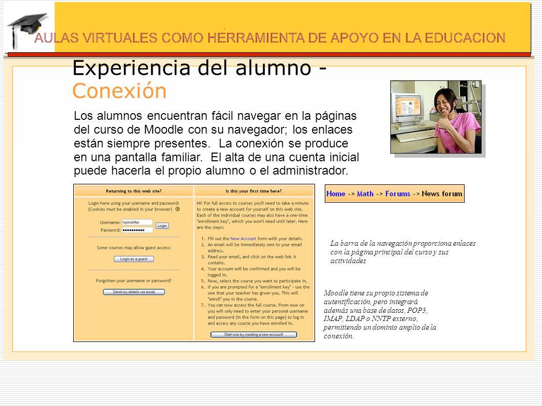 Experiencia del alumno - Conexión