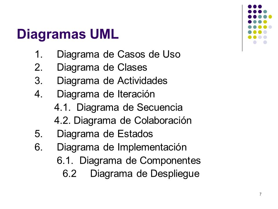 Diagramas UML 1. Diagrama de Casos de Uso 2. Diagrama de Clases