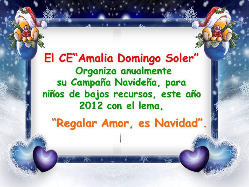El CE Amalia Domingo Soler