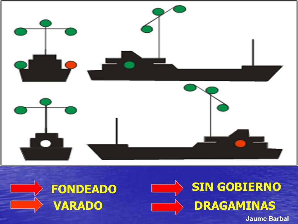 SIN GOBIERNO FONDEADO VARADO DRAGAMINAS Jaume Barbal