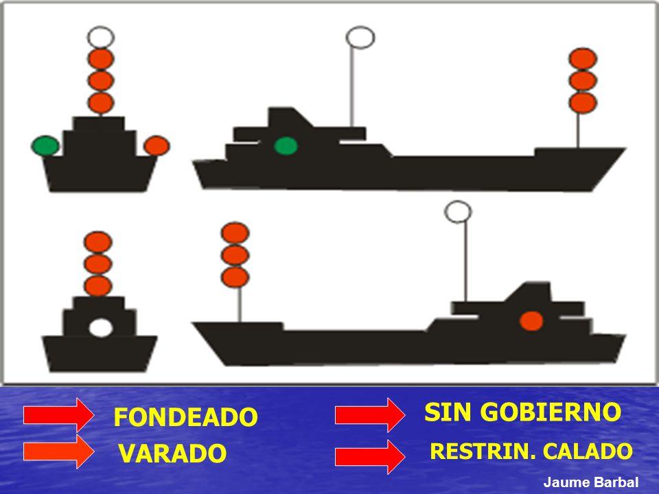 SIN GOBIERNO FONDEADO VARADO RESTRIN. CALADO Jaume Barbal