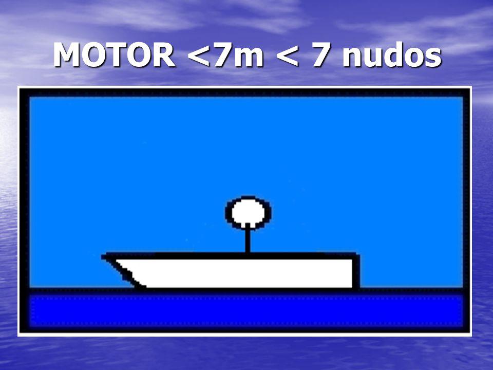 MOTOR <7m < 7 nudos