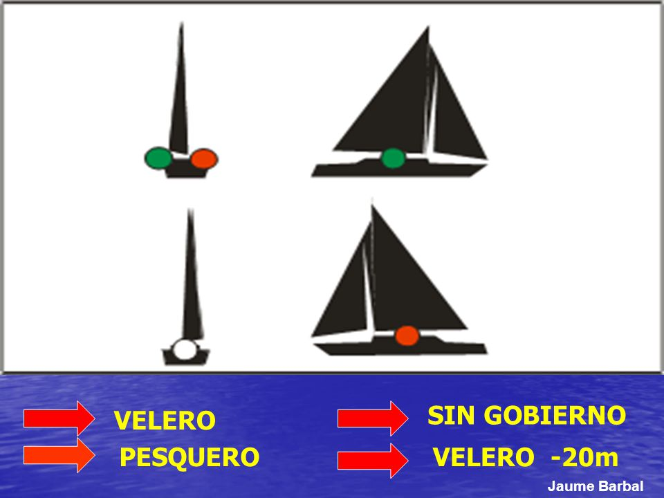 SIN GOBIERNO VELERO PESQUERO VELERO -20m Jaume Barbal
