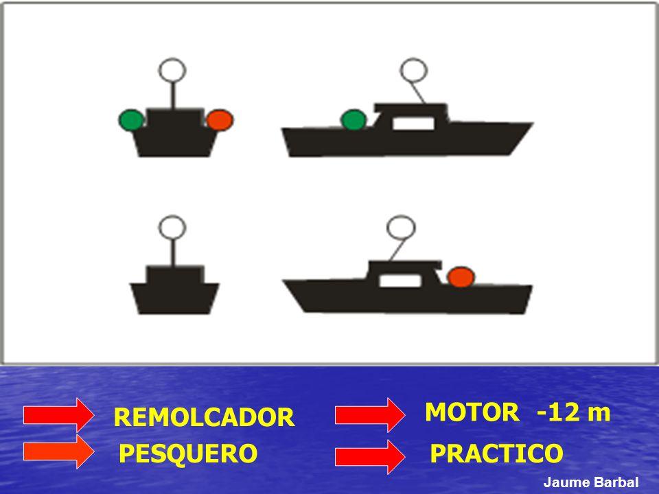 MOTOR -12 m REMOLCADOR PESQUERO PRACTICO Jaume Barbal