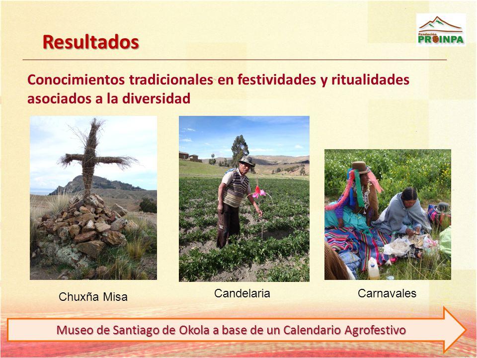 Museo de Santiago de Okola a base de un Calendario Agrofestivo