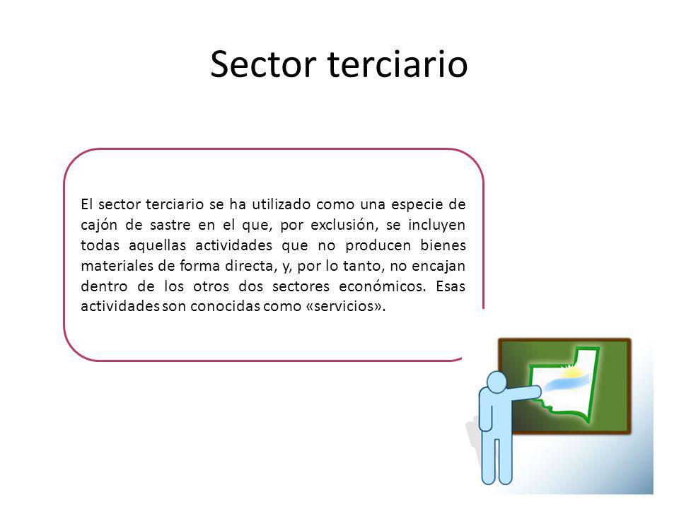 Sector terciario