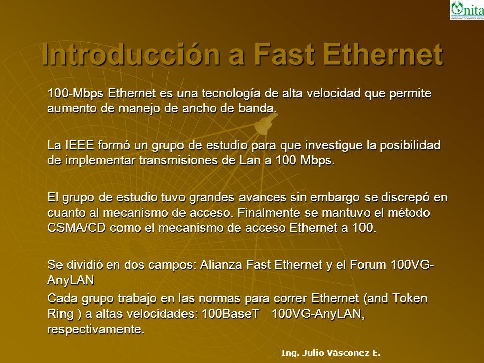 Introducción a Fast Ethernet