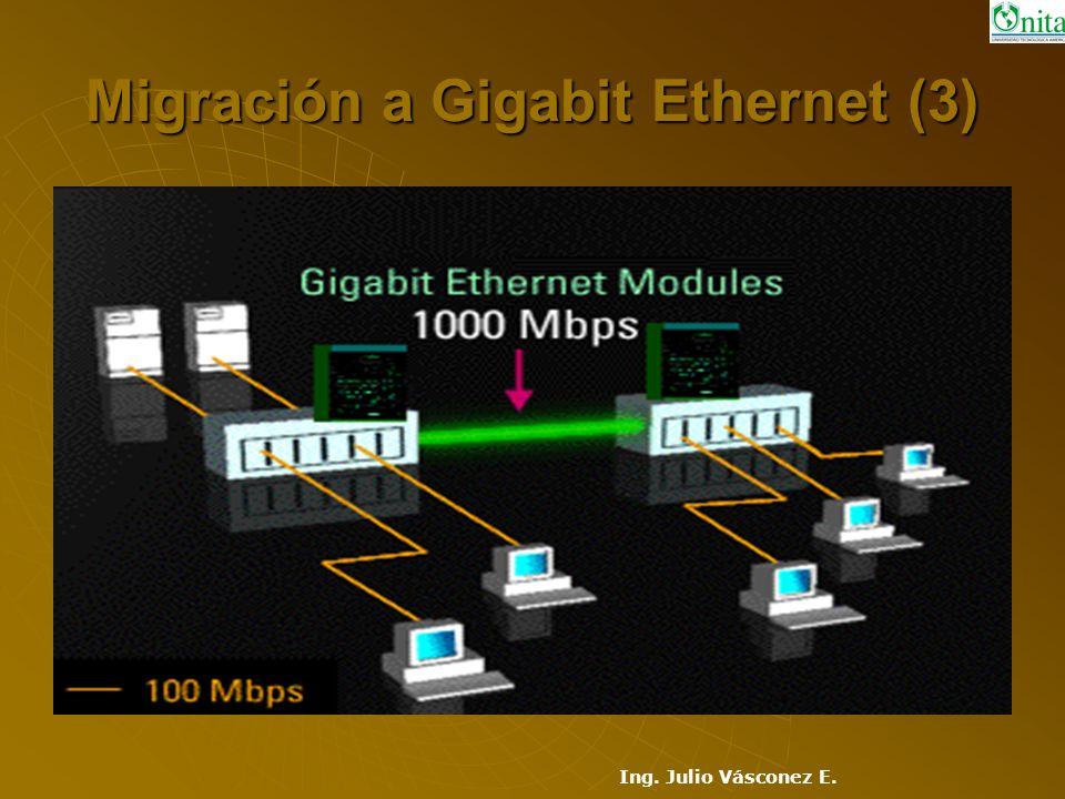 Migración a Gigabit Ethernet (3)